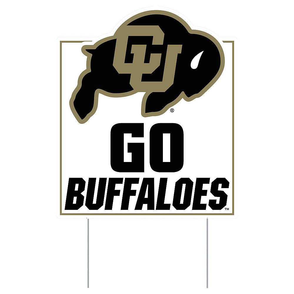 Colorado Buffaloes Lawn Sign Image #1