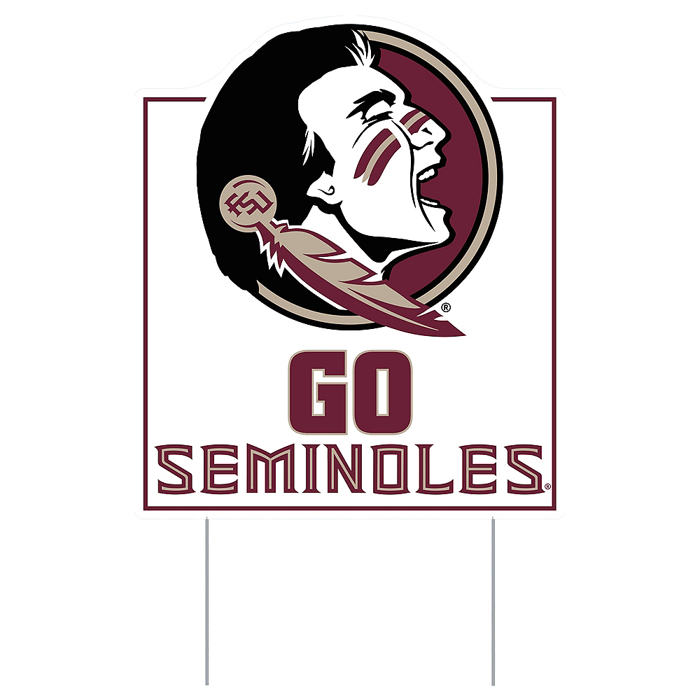 Nav Item for Florida State Seminoles Lawn Sign Image #1