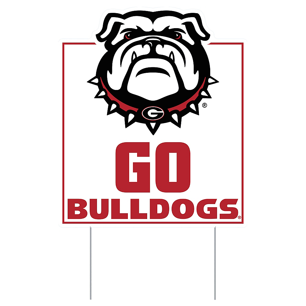 Georgia Bulldogs Lawn Sign Image #1