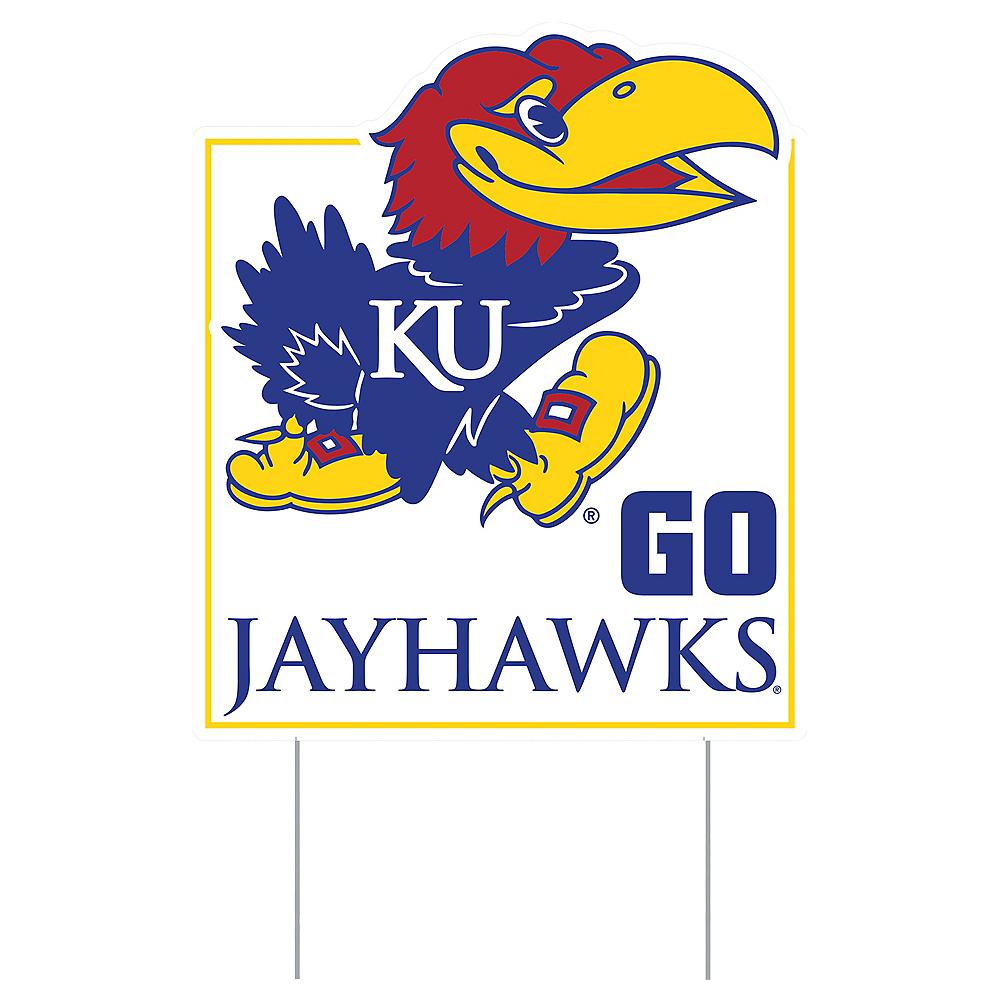 Kansas Jayhawks Lawn Sign Image #1
