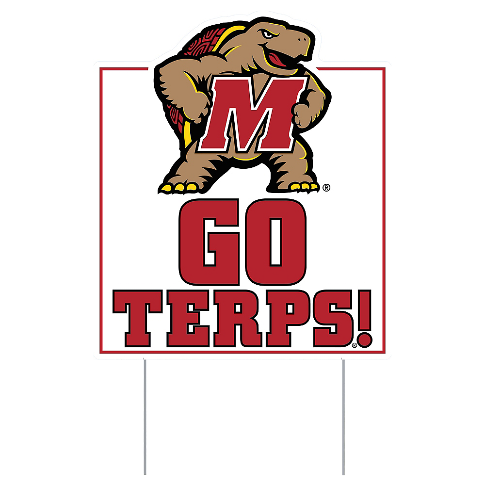 Nav Item for Maryland Terrapins Lawn Sign Image #1