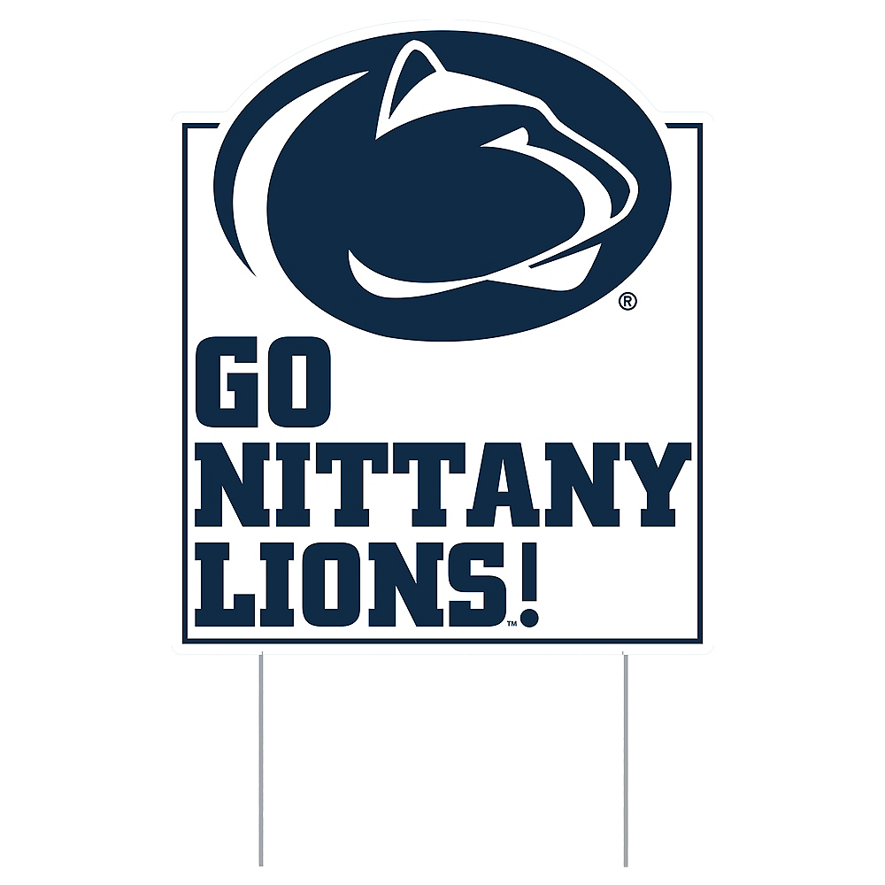 Nav Item for Penn State Nittany Lions Lawn Sign Image #1
