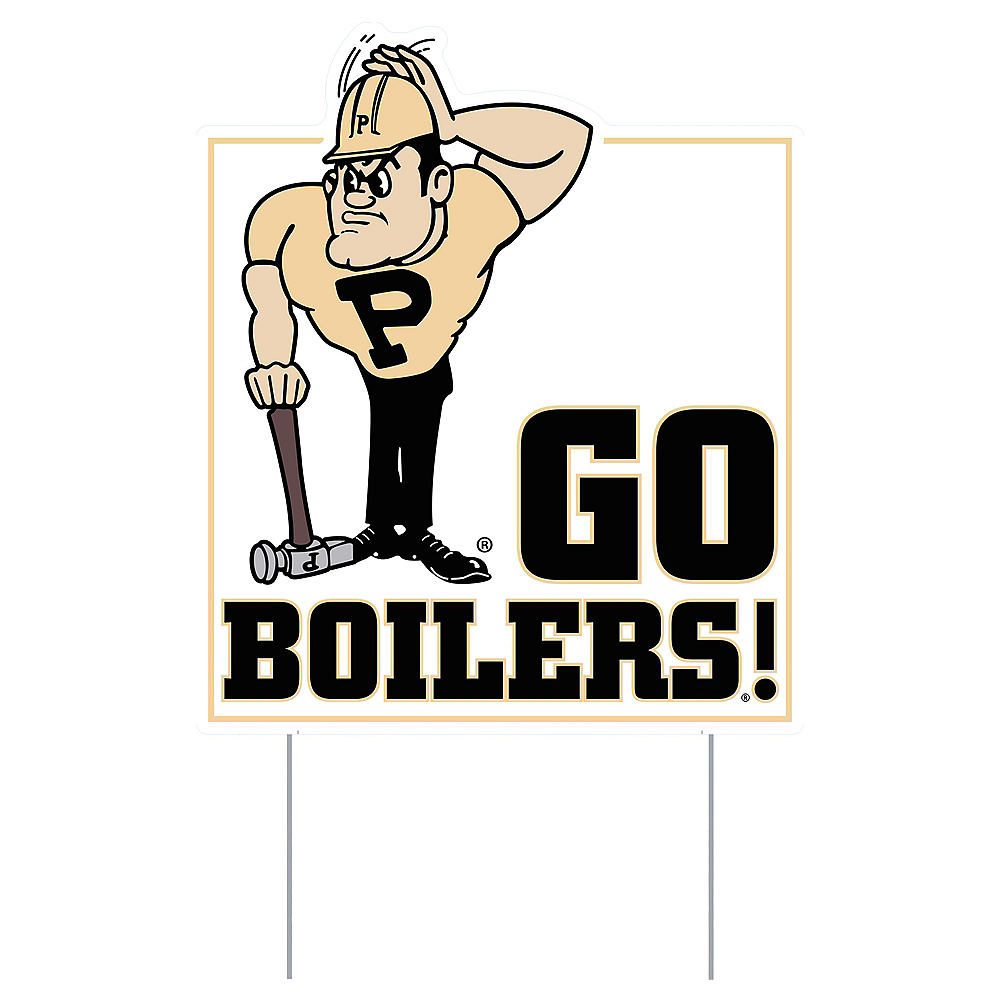 Purdue Boilmakers Lawn Sign Image #1