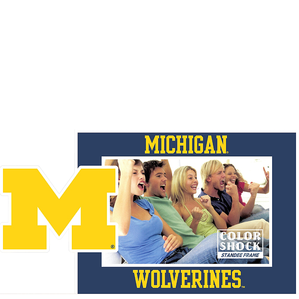 Michigan Wolverines Photo Frame Image #1