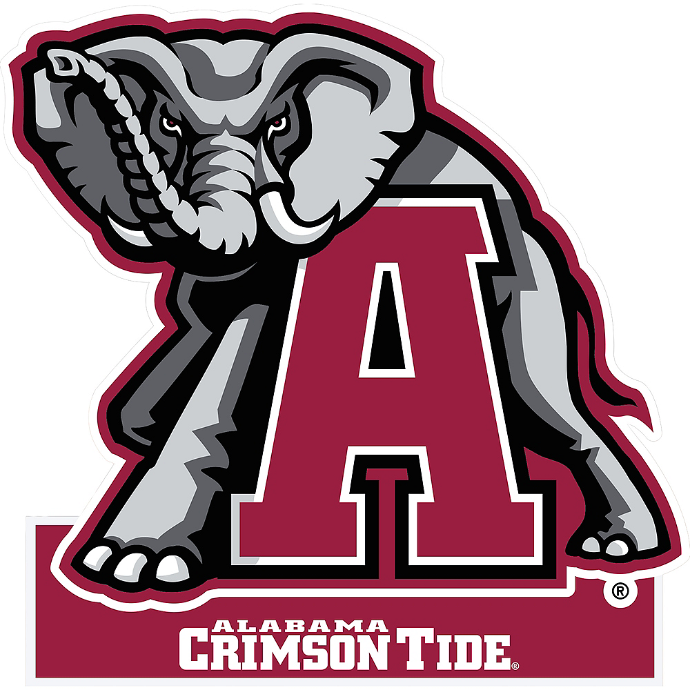 Alabama Crimson Tide Mascot Table Sign Image #1