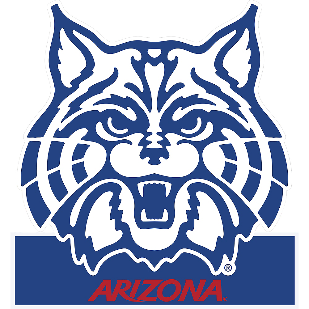 Nav Item for Arizona Wildcats Mascot Table Sign Image #1