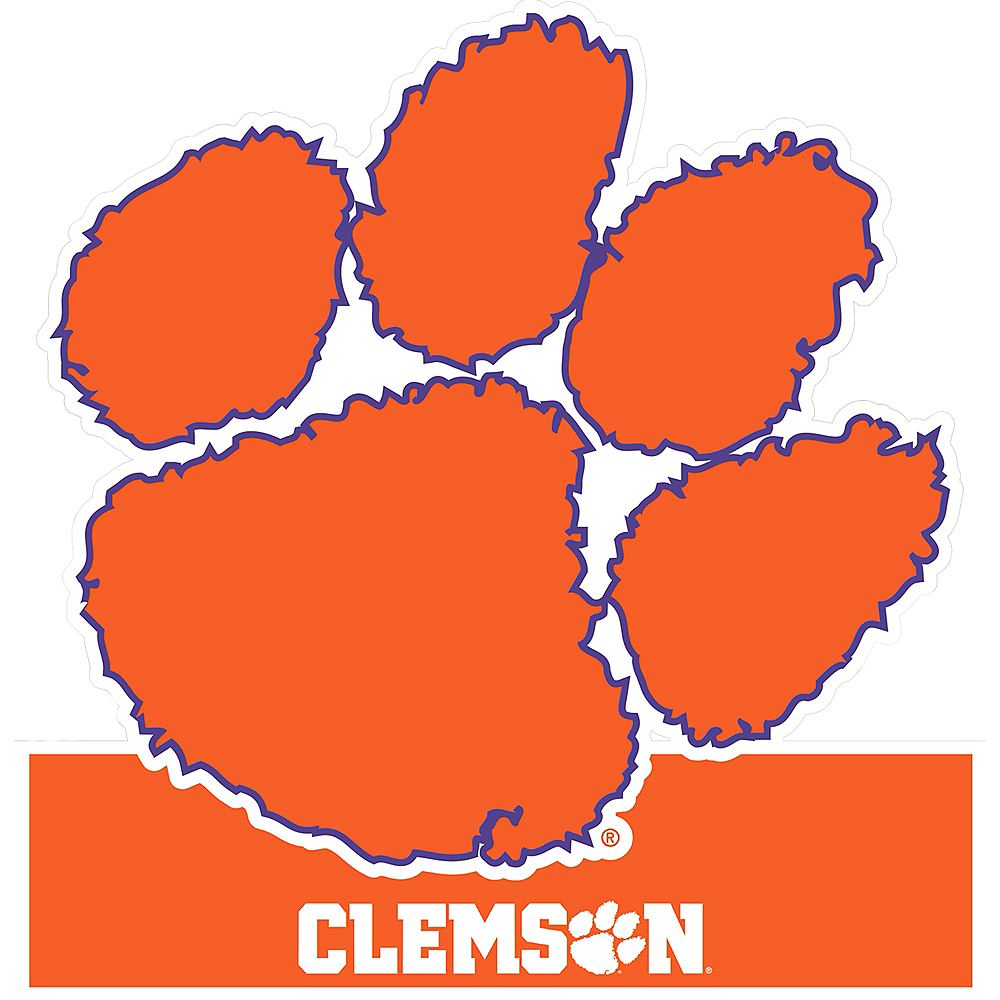 Clemson Tigers Table Sign Image #1