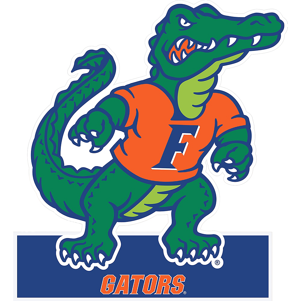 Florida Gators Mascot Table Sign Image #1