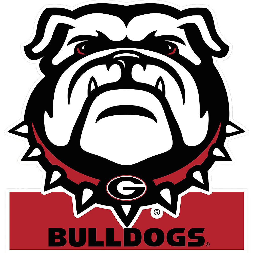 Georgia Bulldogs Mascot Table Sign Image #1