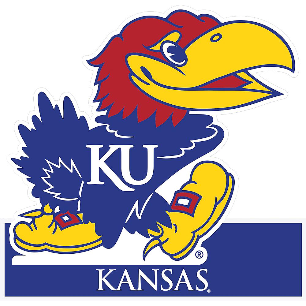 Kansas Jayhawks Mascot Table Sign Image #1