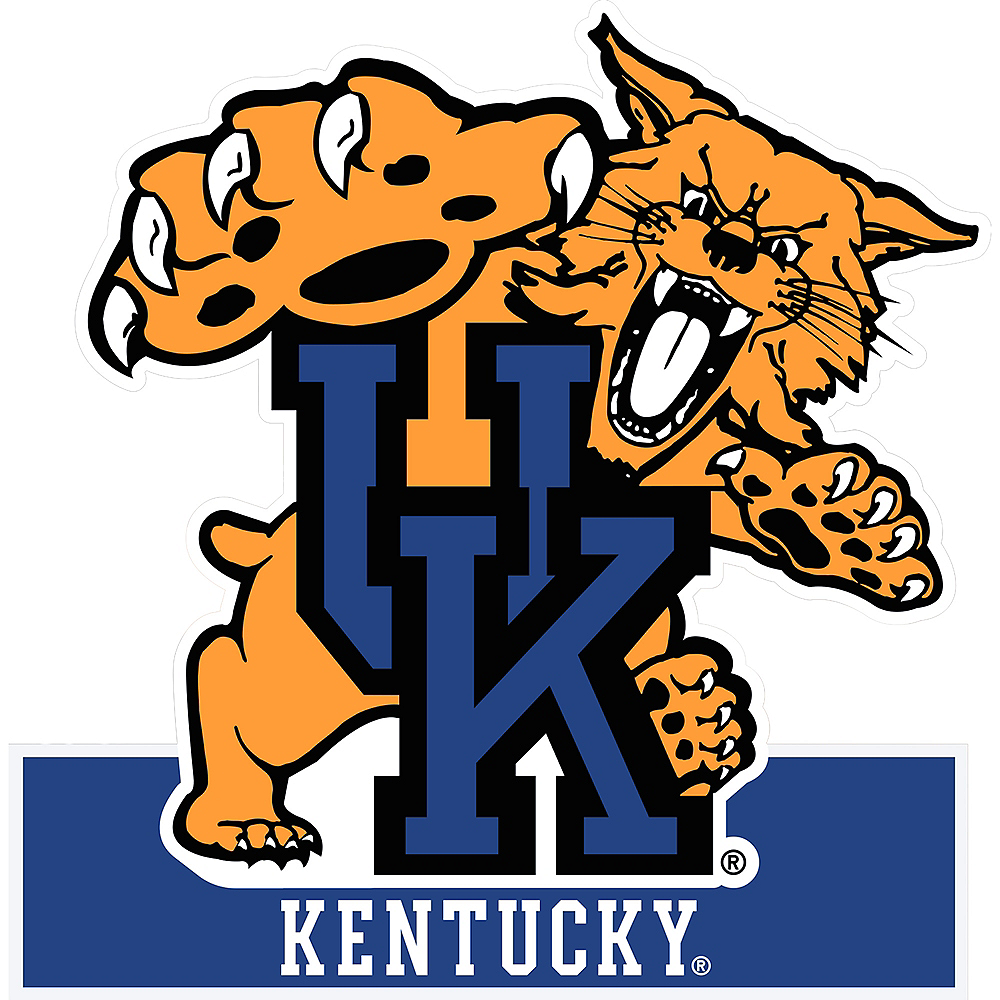 Kentucky Wildcats Mascot Table Sign Image #1