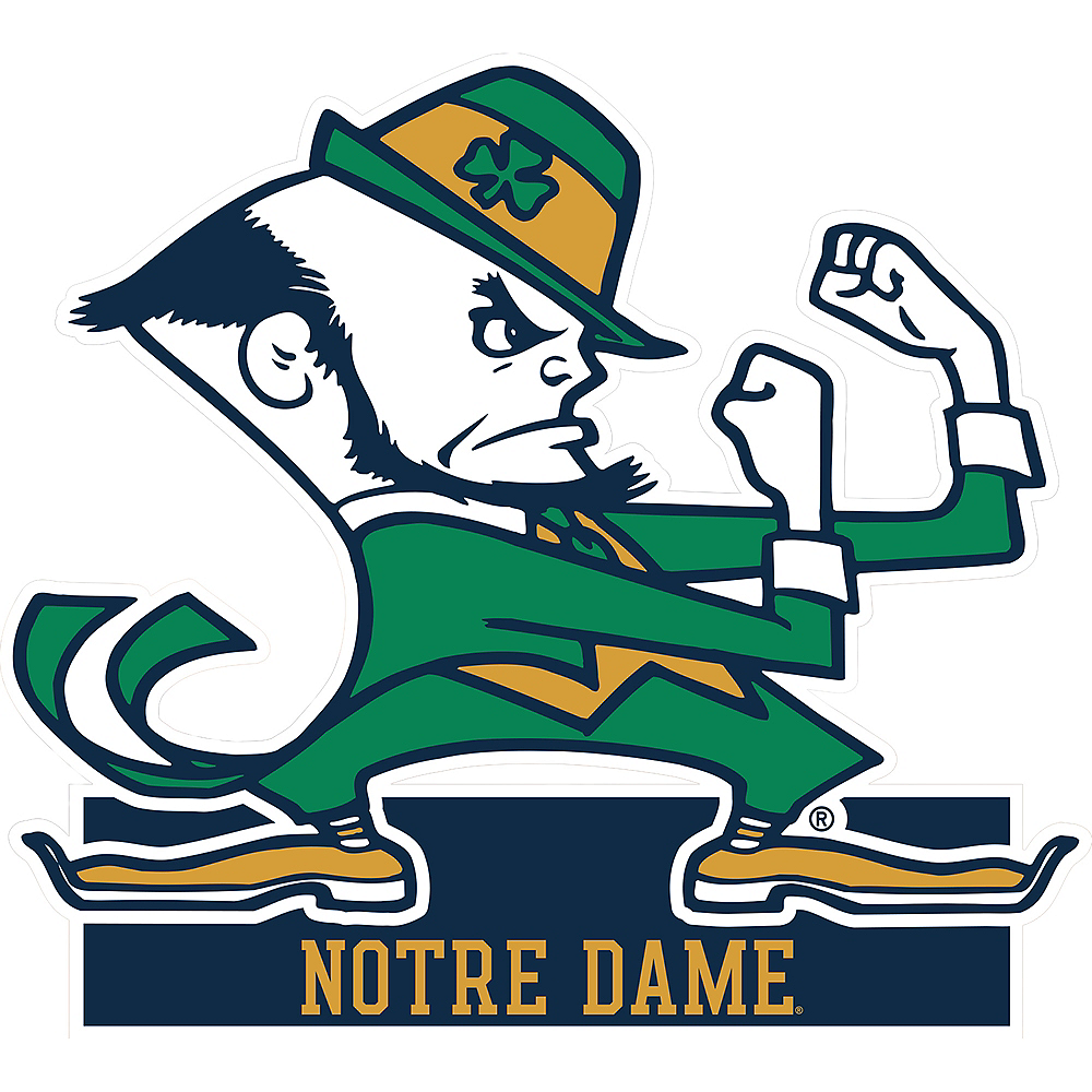 Notre Dame Fighting Irish Mascot Table Sign Image #1
