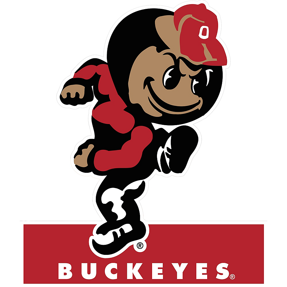 Ohio State Buckeyes Mascot Table Sign Image #1