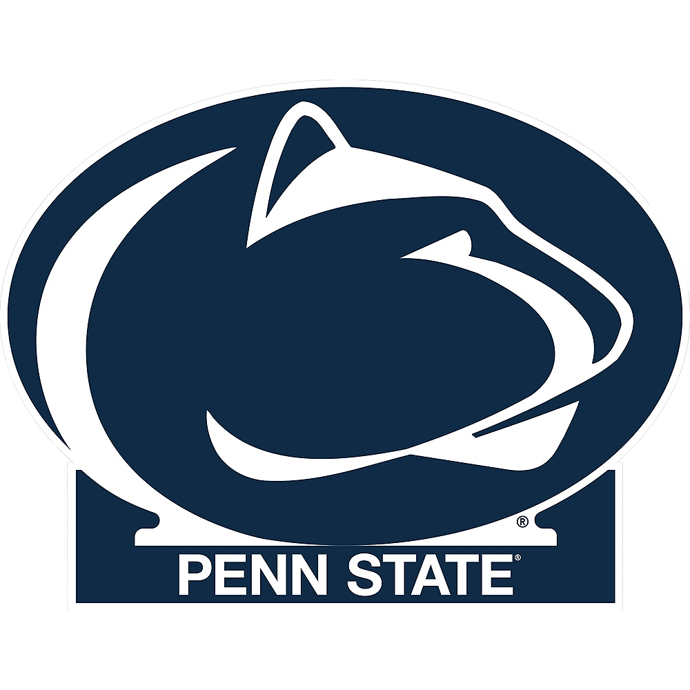Penn State Nittany Lions Mascot Table Sign Image #1