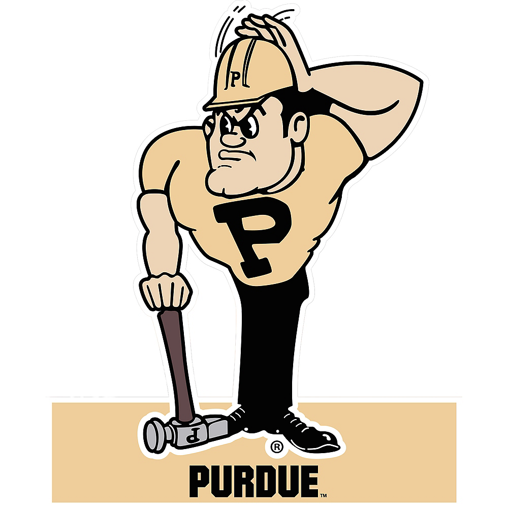 Purdue Boilmakers Mascot Table Sign Image #1