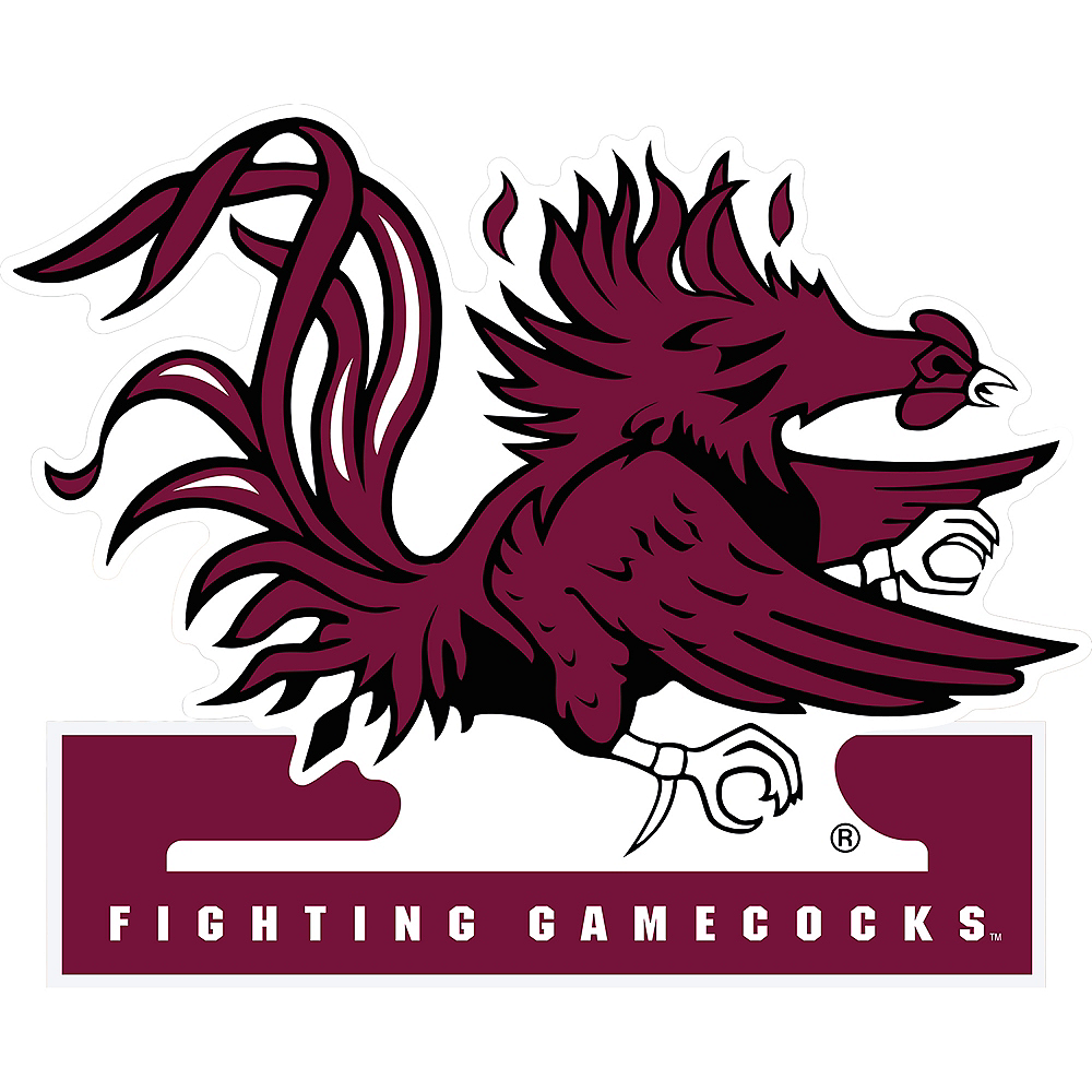 South Carolina Gamecocks Mascot Table Sign Image #1