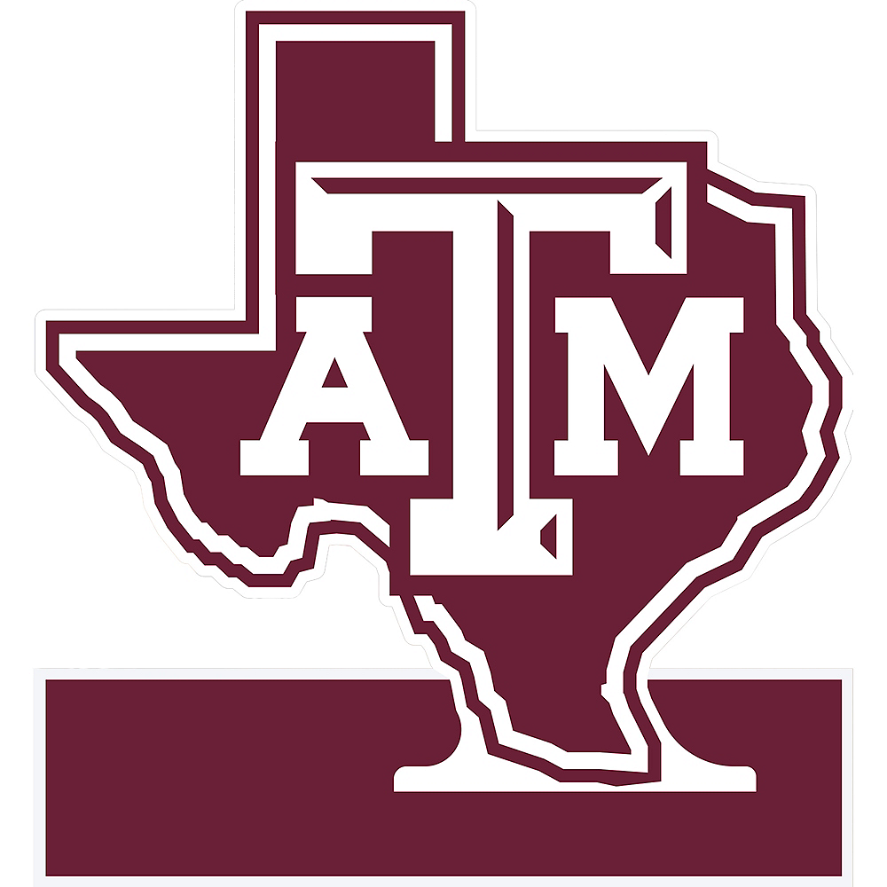 Texas A&M Aggies Table Sign Image #1