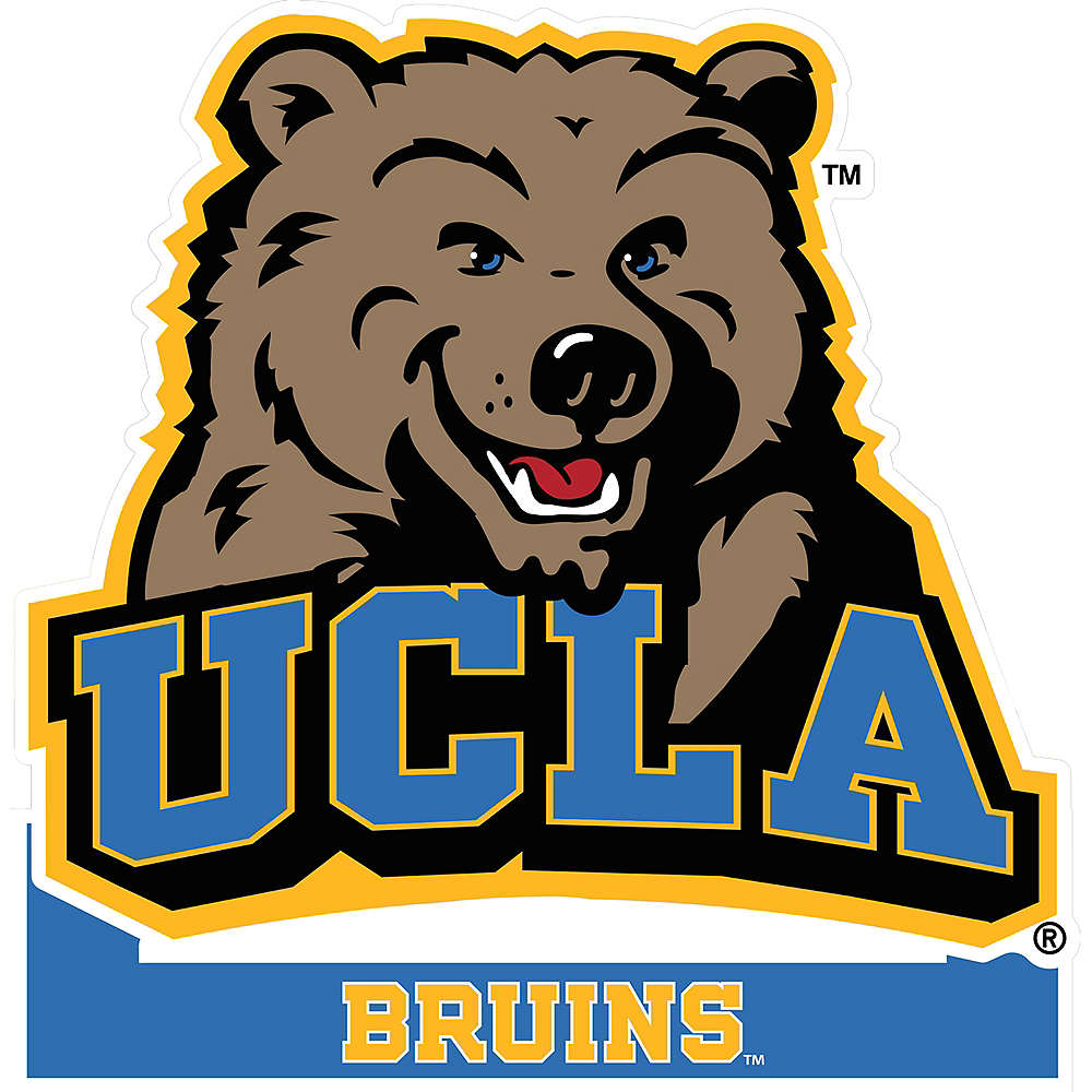 UCLA Bruins Mascot Table Sign Image #1