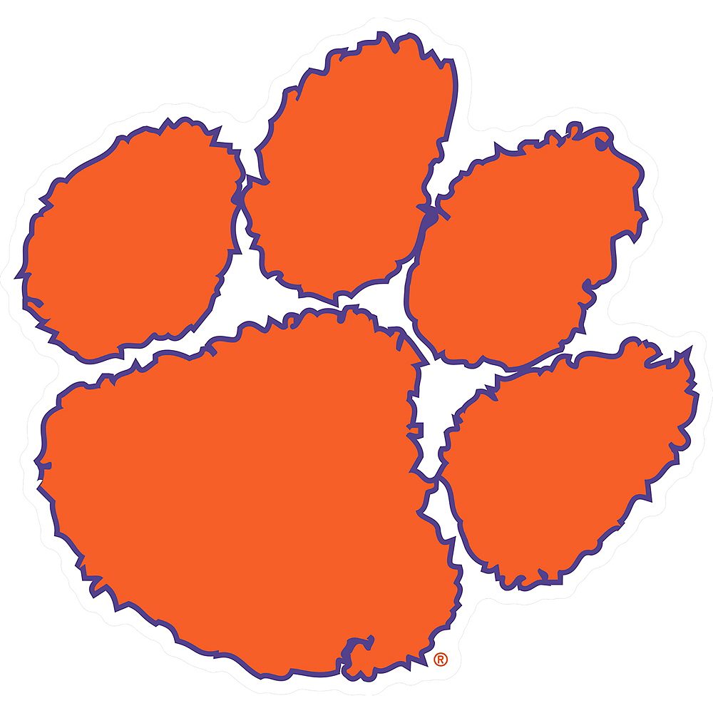 Nav Item for Clemson Tigers Sign Image #1