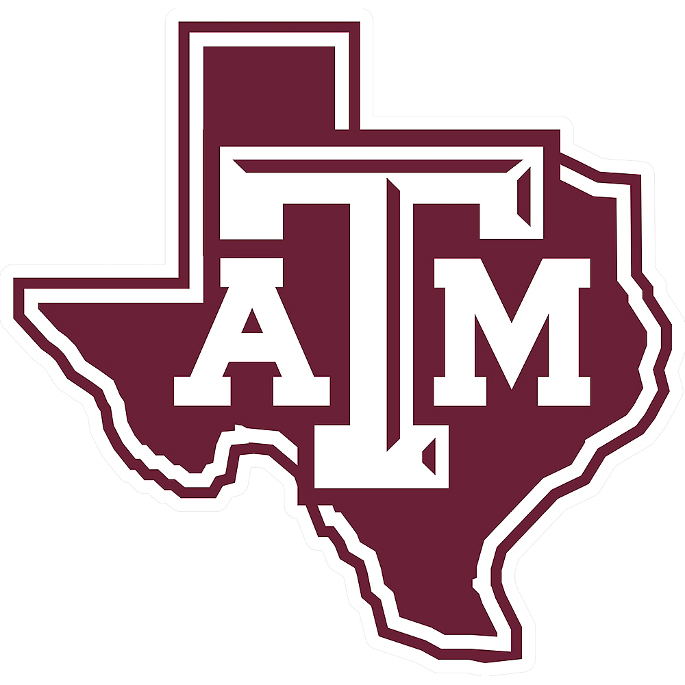 Texas A M Aggies Sign 10in Party City