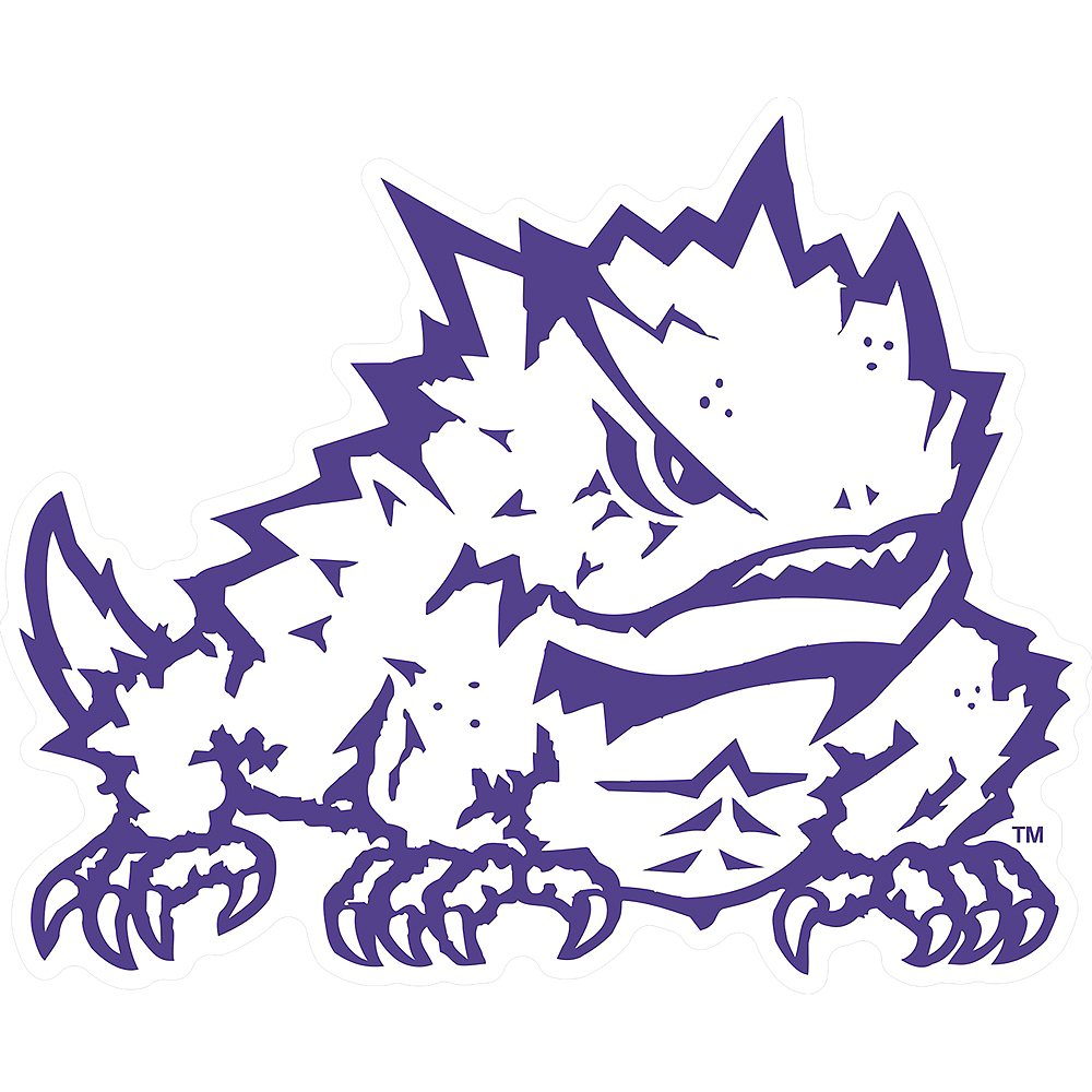 TCU Horned Frogs Sign Image #1