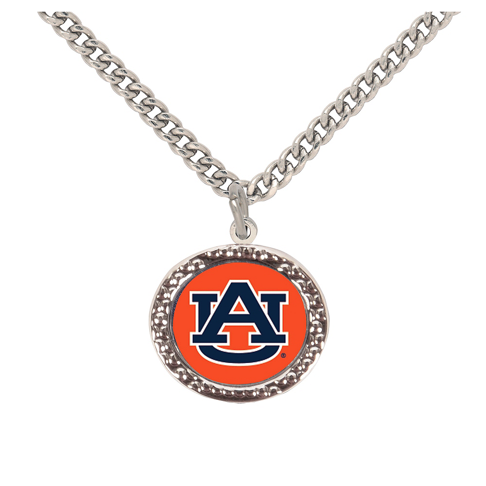 Nav Item for Auburn Tigers Pendant Necklace Image #1