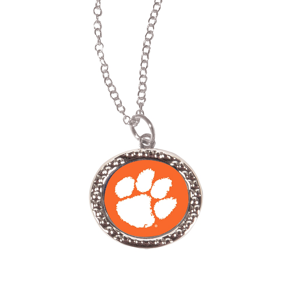 Clemson Tigers Pendant Necklace Image #1