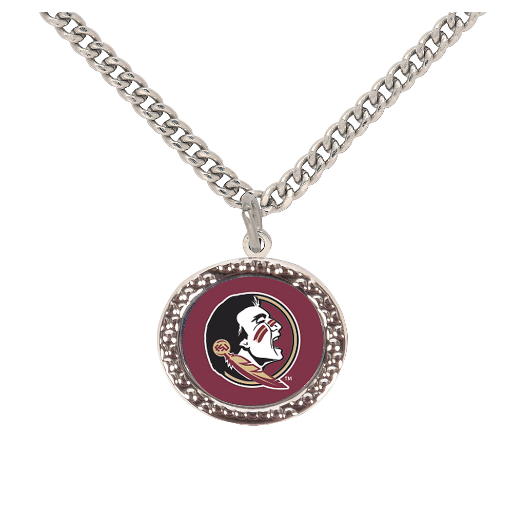 Nav Item for Florida State Seminoles Pendant Necklace Image #1