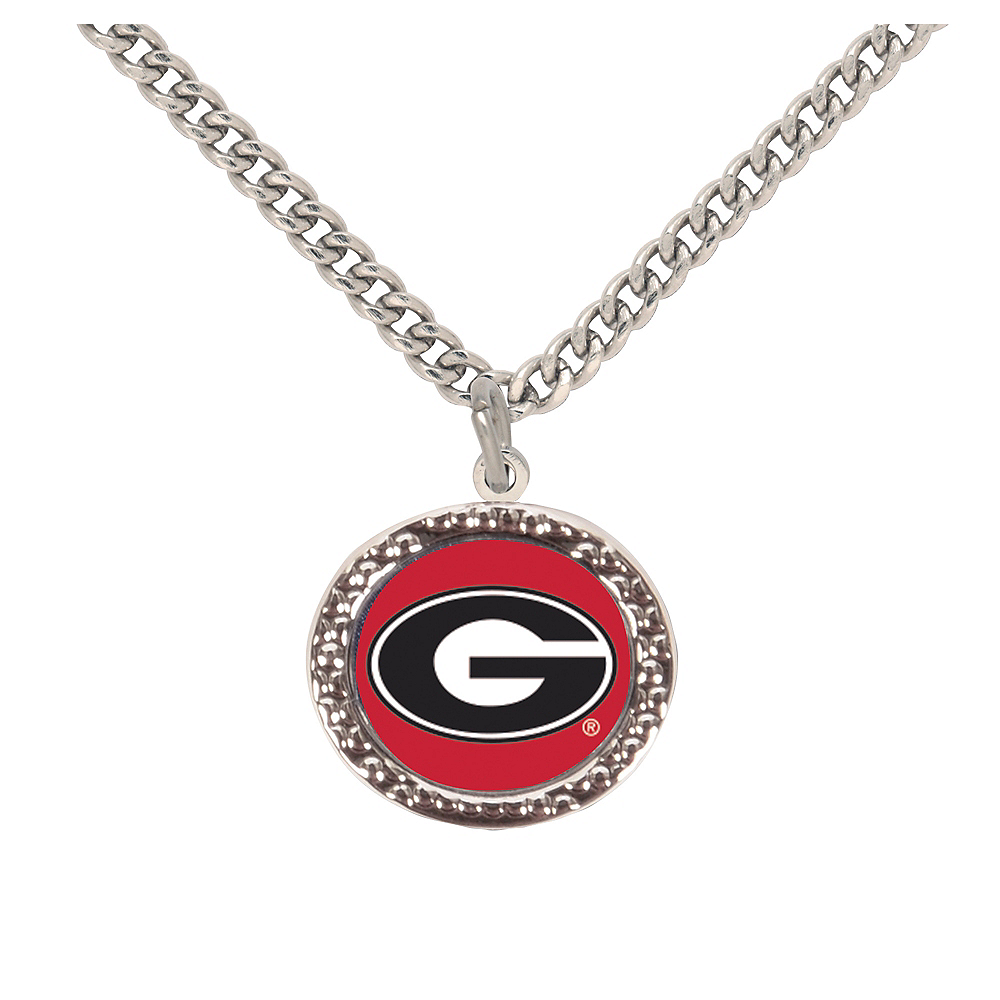 Nav Item for Georgia Bulldogs Pendant Necklace Image #1