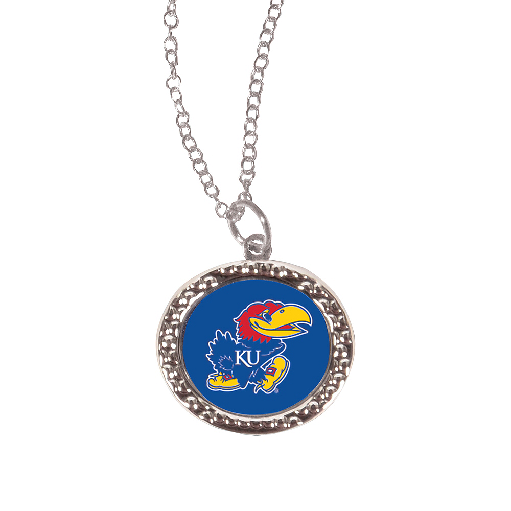 Kansas Jayhawks Pendant Necklace Image #1