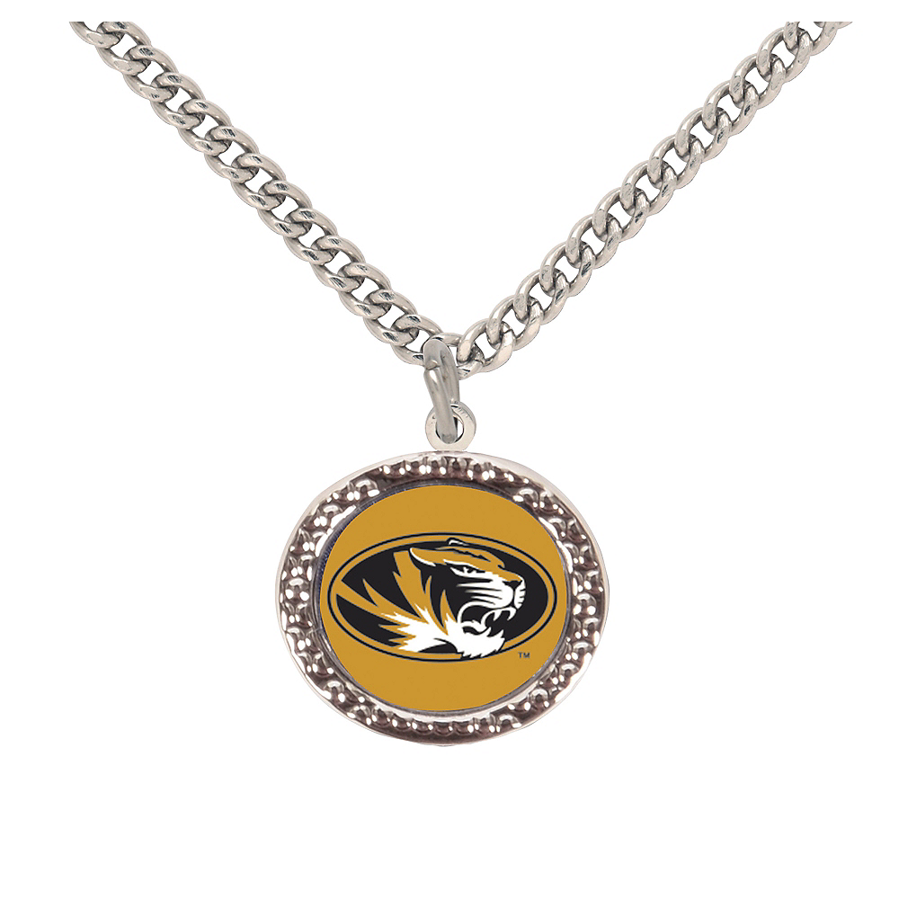 Missouri Tigers Pendant Necklace Image #1