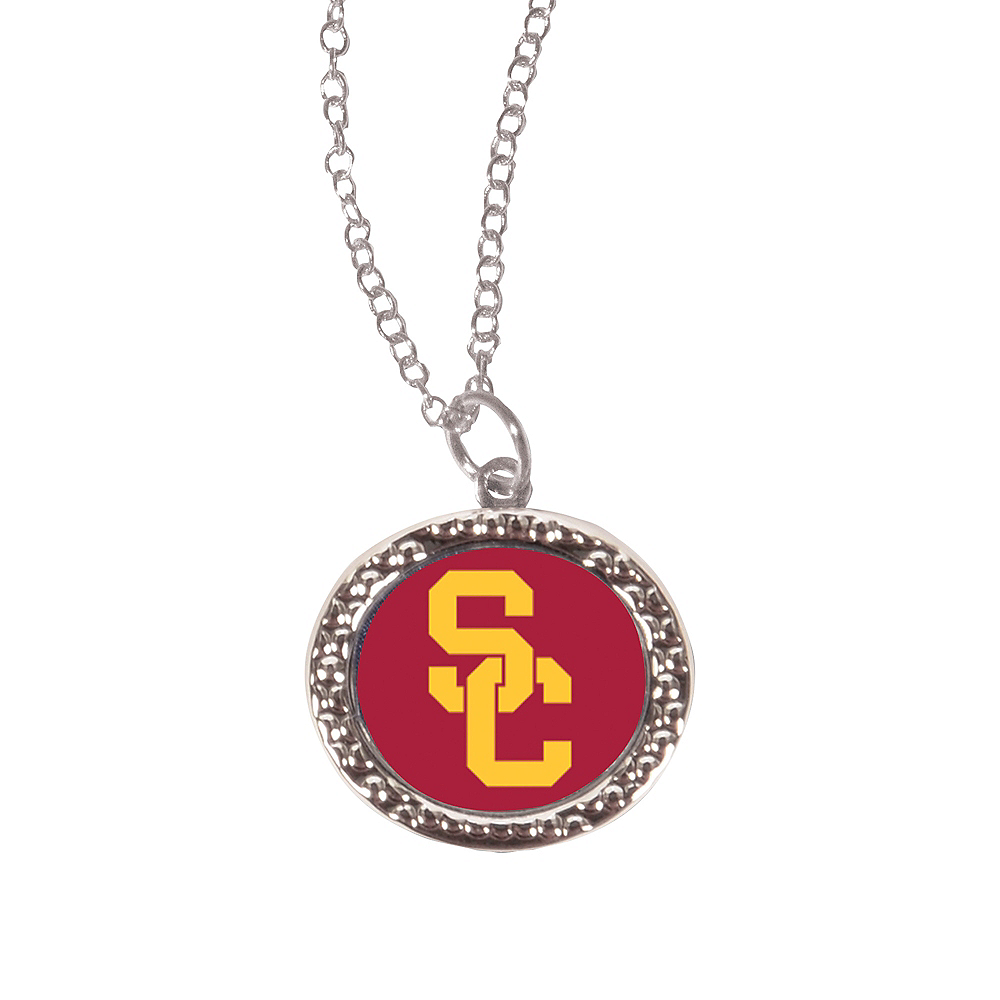 Nav Item for USC Trojans Pendant Necklace Image #1