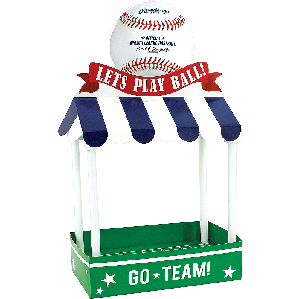 Let's Play Ball Baseball Treat Stand Kit Image #1