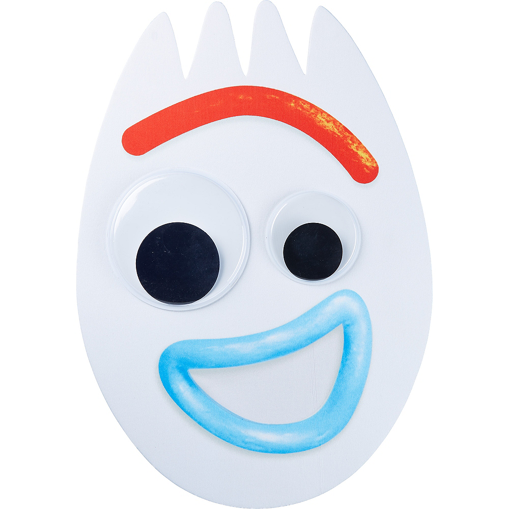 Nav Item for Child Forky Mask - Toy Story 4 Image #1