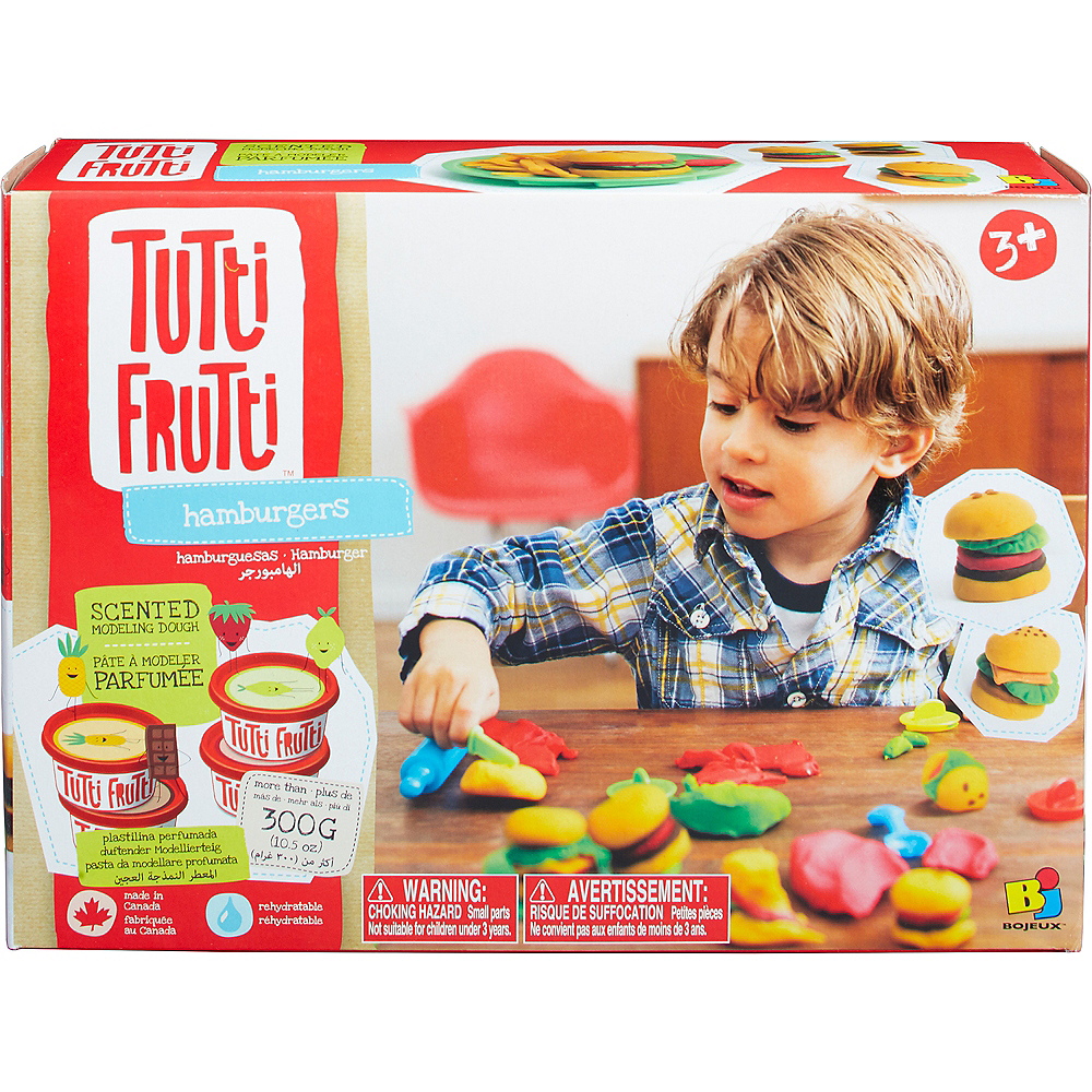 Tutti Frutti Scented Hamburger Molding Dough Set 12pc Image #1