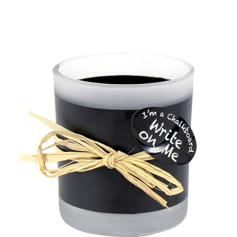 Chalkboard Votive Candle Holders 6ct Image #1