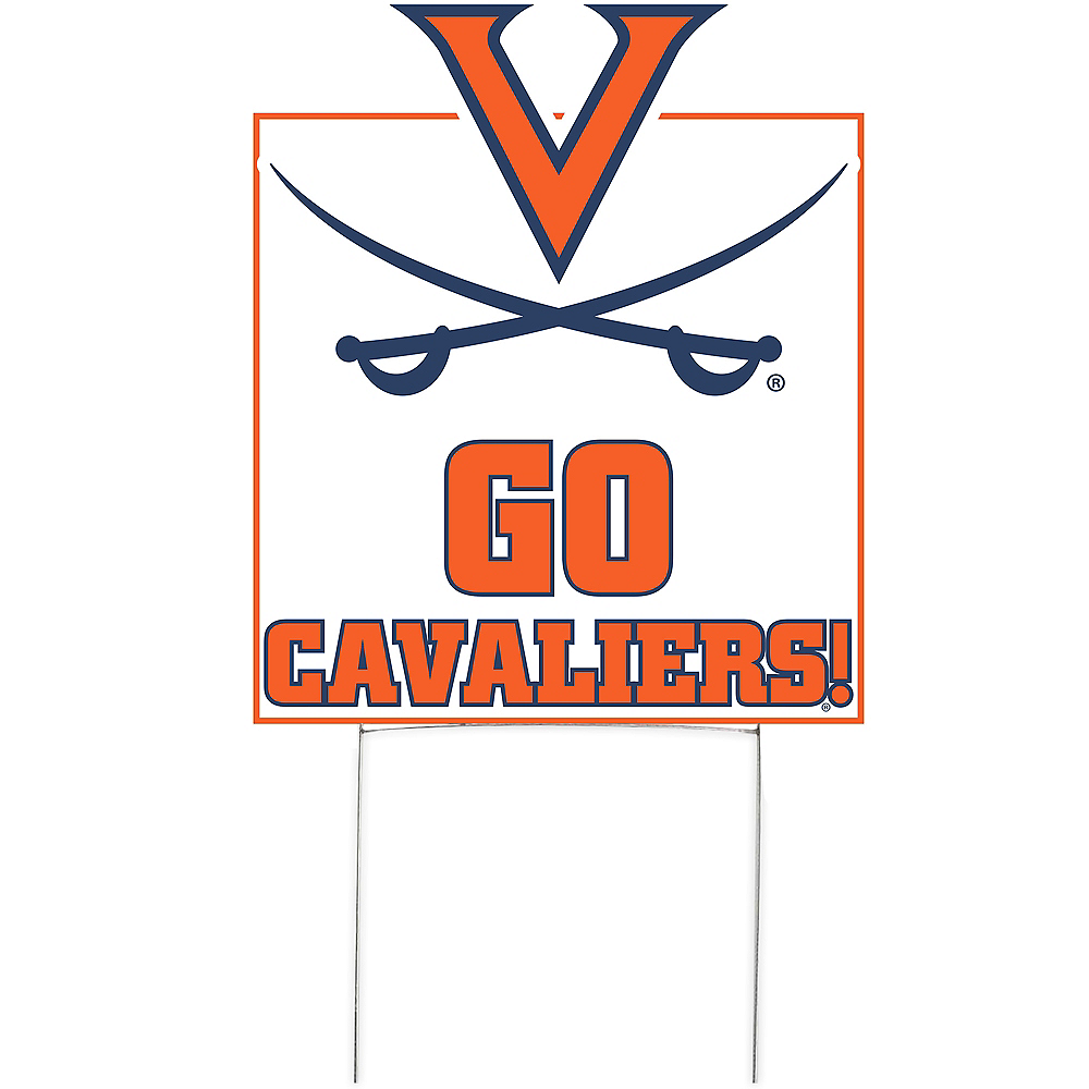 Virginia Cavaliers Lawn Sign Image #1