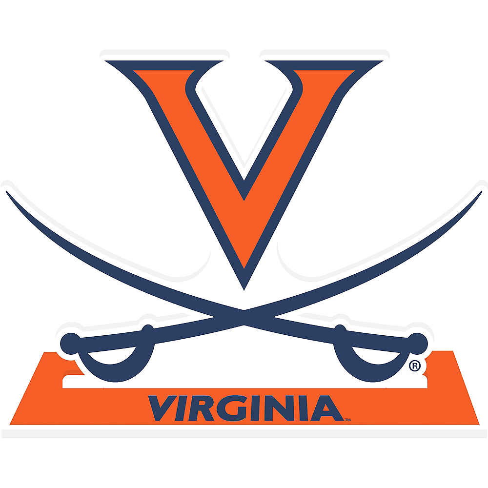 Virginia Cavaliers Mascot Table Sign Image #1