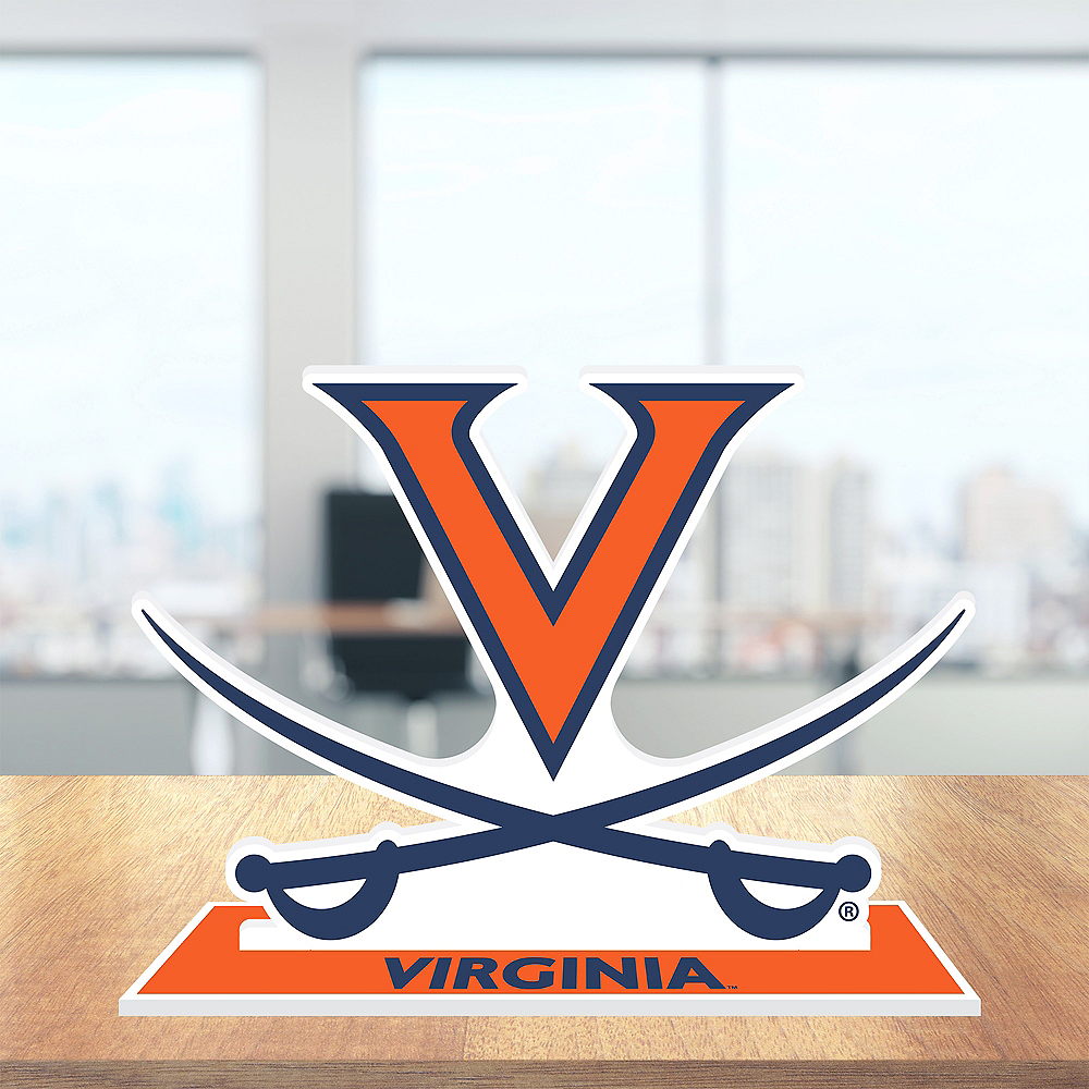 Virginia Cavaliers Mascot Table Sign Image #2
