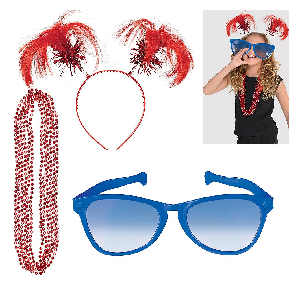 Red & Blue Fan Kit Image #1