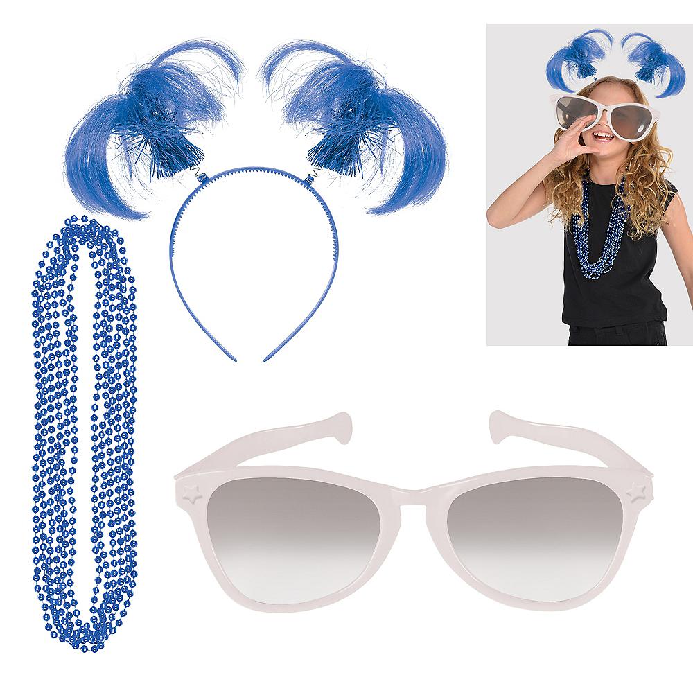Blue & White Fan Kit Image #1