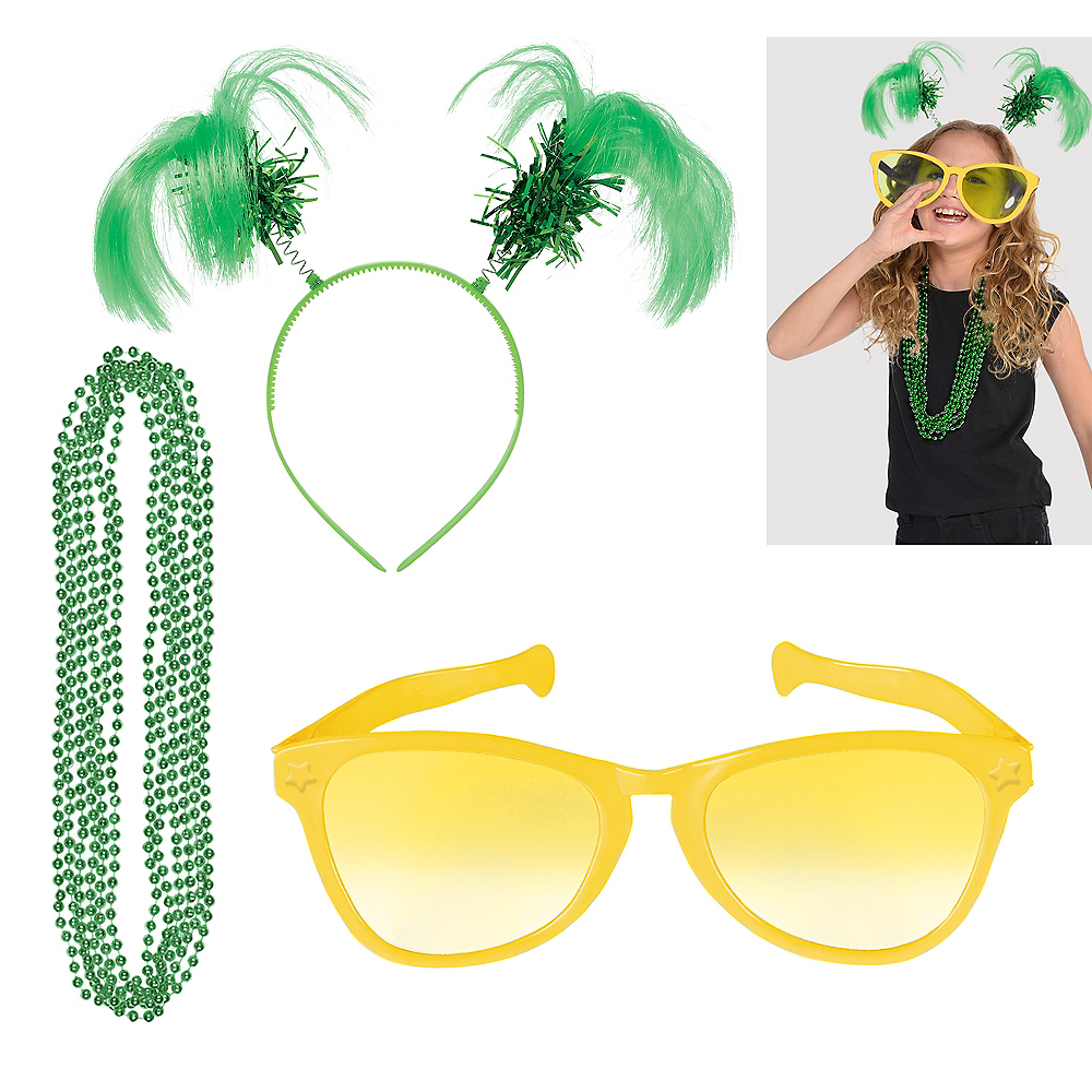 Green & Yellow Fan Kit Image #1