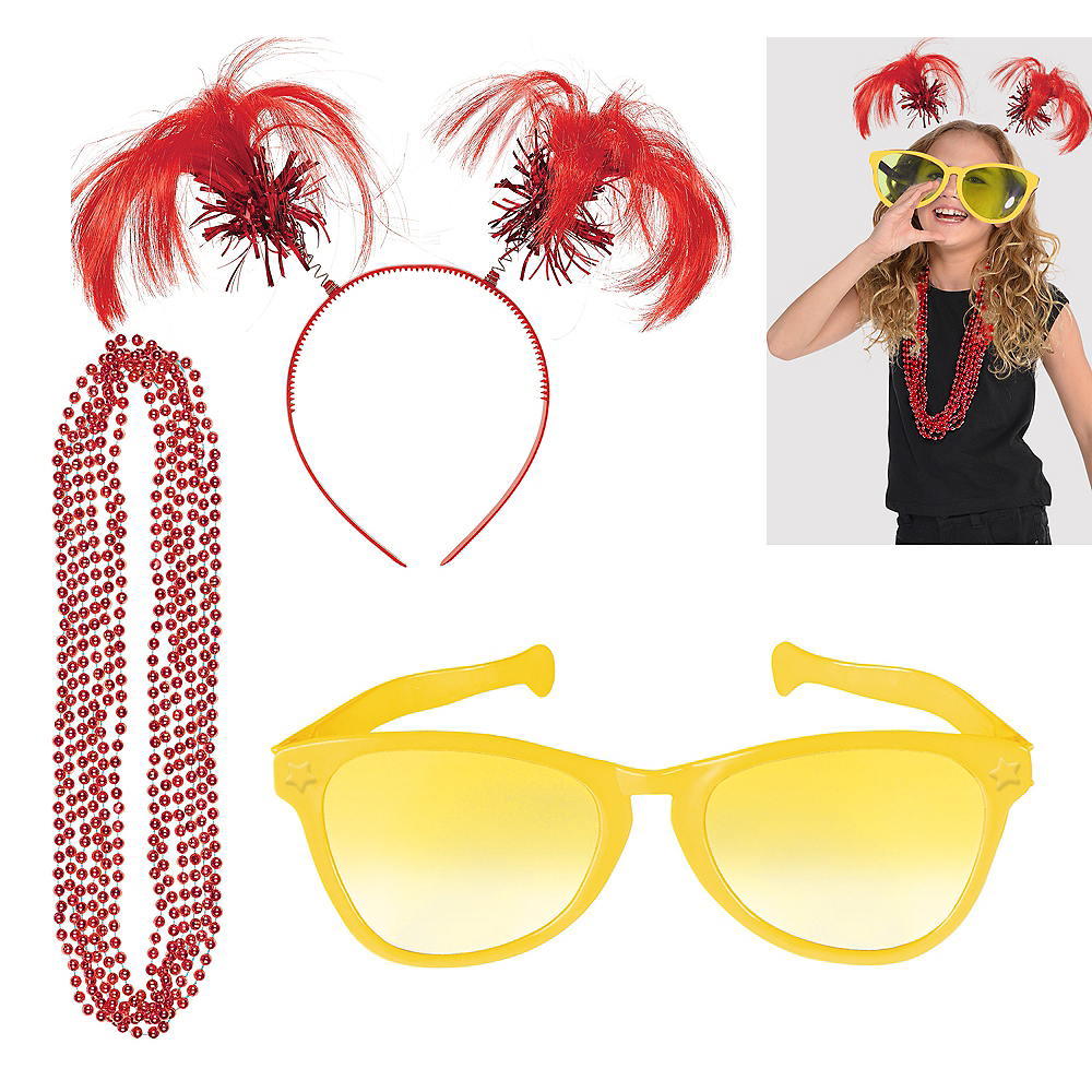 Red & Yellow Fan Kit Image #1