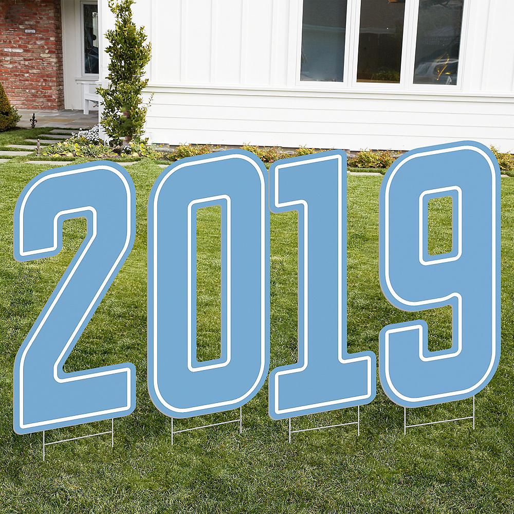 Giant Light Blue 2019 Yard Sign Kit Image #1