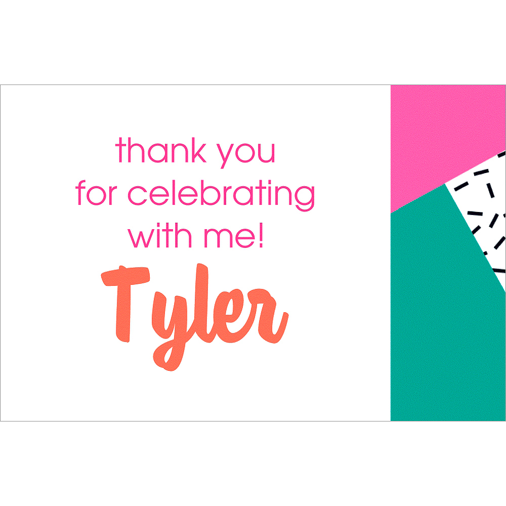Custom Young & Fab Thank You Notes Image #1