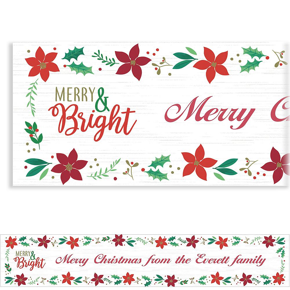 Custom Christmas Wishes Banner Image #1