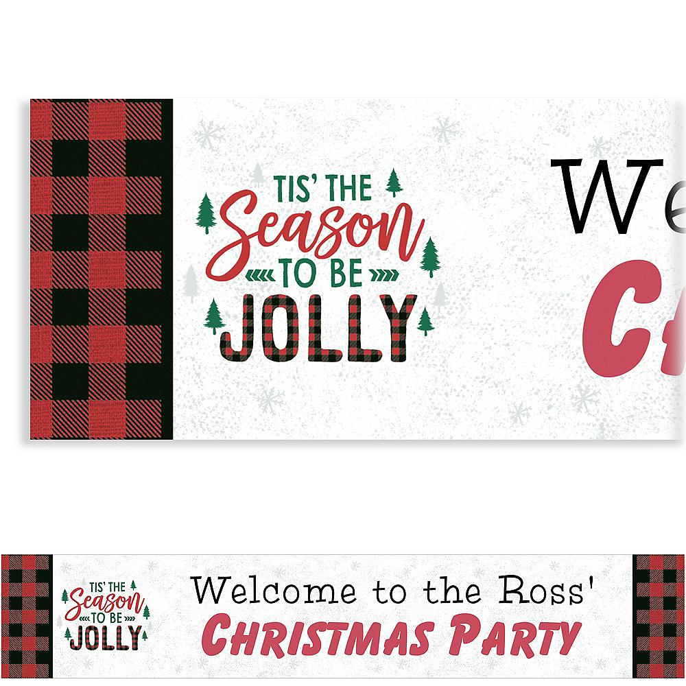Custom Cozy Christmas Banner Image #1