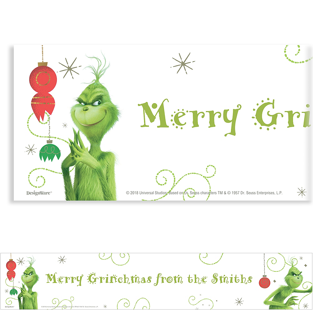 Nav Item for Custom The Grinch Banner Image #1