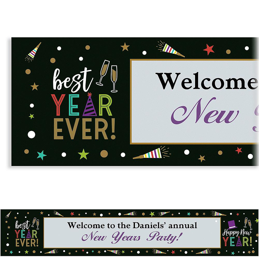 Custom Bright New Year's Eve Banner Image #1
