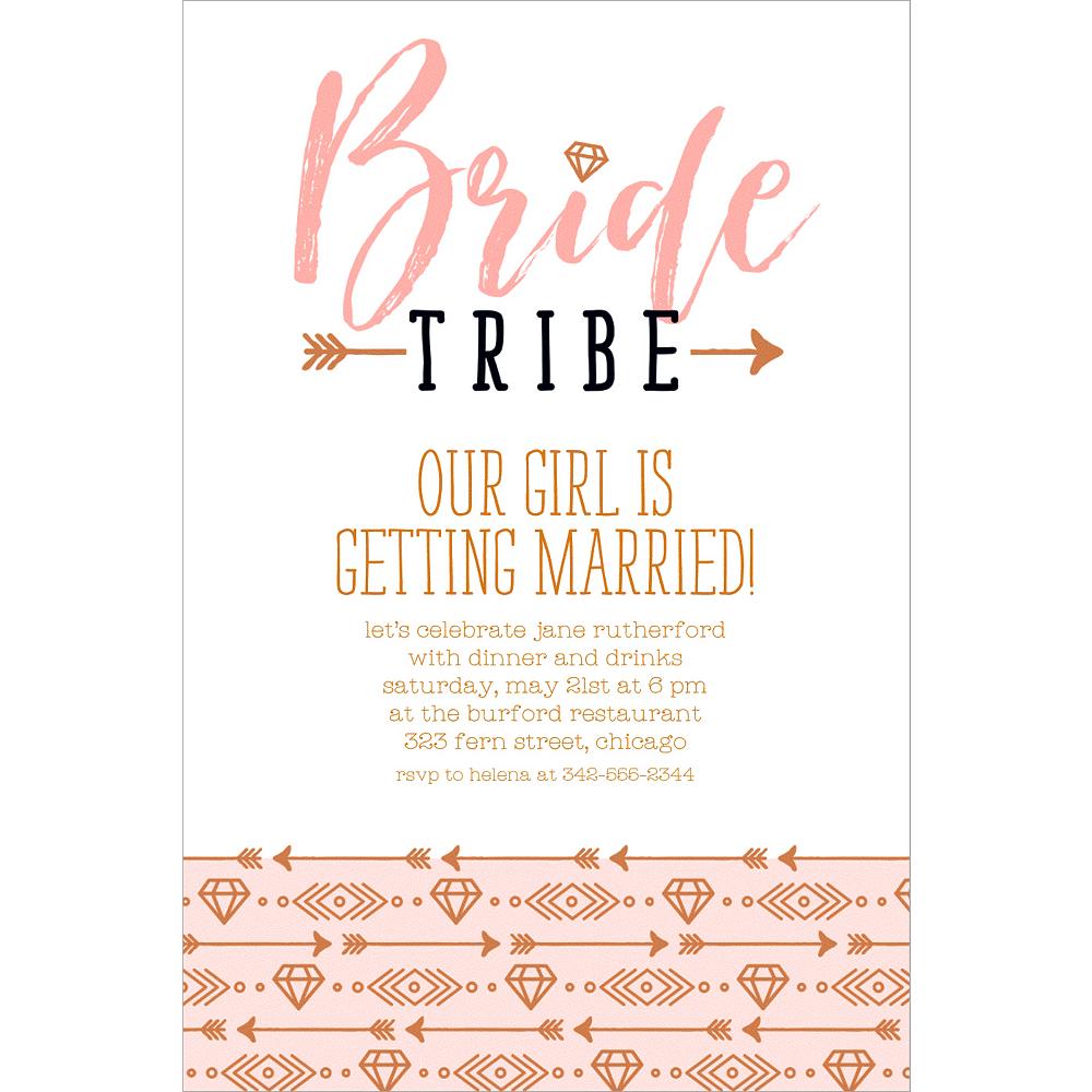 Custom Bride Tribe Invitations Image #1